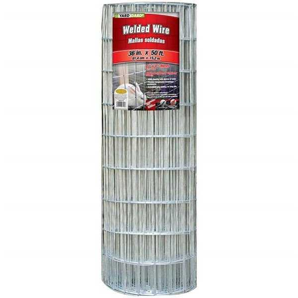 36 in. by 100 ft. 16 Gauge 1 by 1 in. Mesh Galvanized Welded Wire