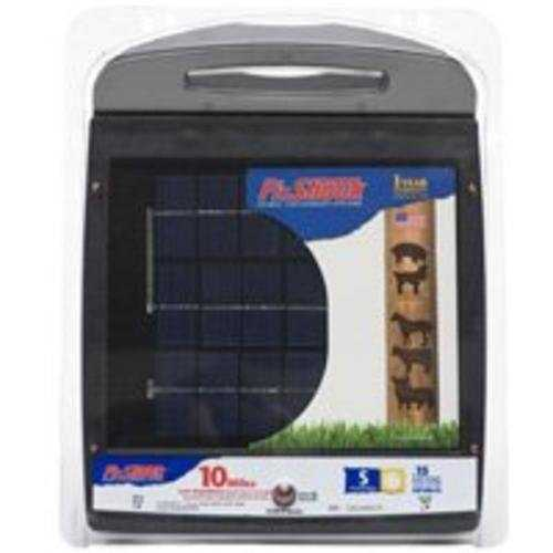 Fi-Shock ESP10M-FS Solar Powered Low Impedance Energizer, 10 Mile