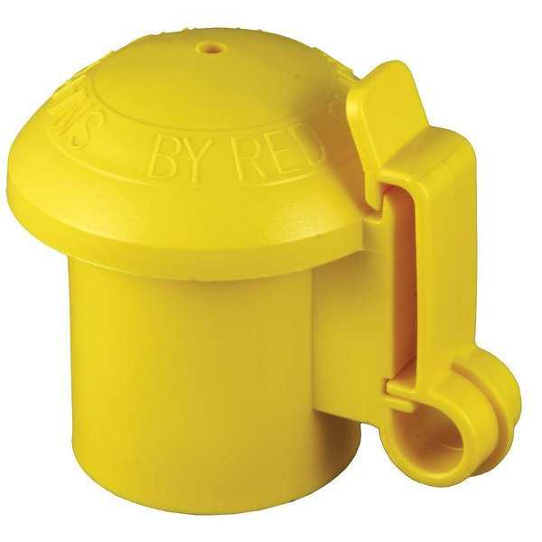 Red Snap'R ITCPY-RS/YSC10N T-Post Insulator, Yellow